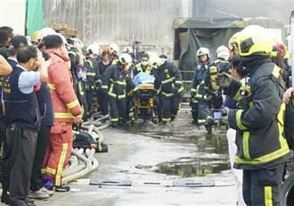 火神的眼淚真實寫照 消防員批違章工廠成同仁墳場