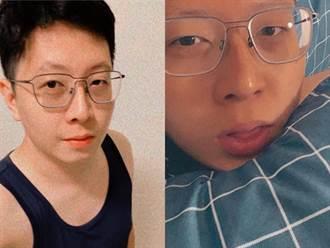 王浩宇PO在家防疫「吐舌床照」:沒有政治人物的包袱真的很爽