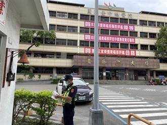 防止醫院暴力 太平加派警力維護醫護人身安全