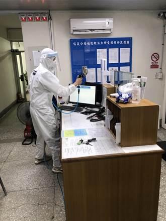 防第一線員警染疫 廠商無償提供信義分局奈米塗料