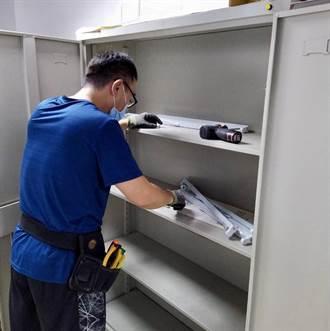 防疫設備自己動手做 北市保大DIY紫外線公文消毒櫃