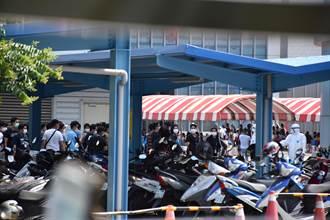 京元電移工群聚感染新增32例 還有2000人待篩