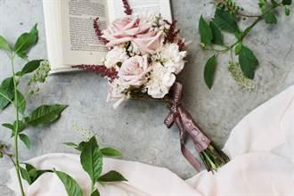 愛在疫情蔓延時 婚禮停辦親友訂捧花贈祝福