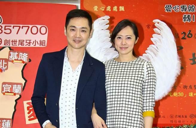 宋達民與洪百榕是演藝圈的模範夫妻檔。(圖/中時資料照片)