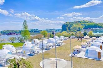 避開「3密」露營需求大增 小學校變身豪華露營區