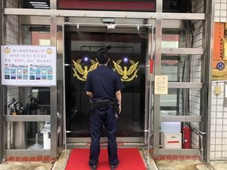 提升員警防護力 文昌宮贈中山警滅菌門