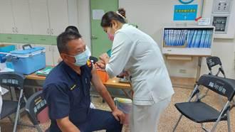 派出所員警優先!嘉義市第一線員警打疫苗達8成