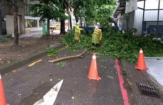 因應鋒面通過帶來豪大雨 中市建設局整備防汛