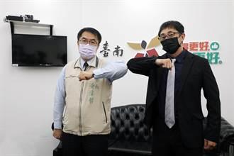 黃偉哲接見長野崎孝男 強調優先提供日僑施打疫苗