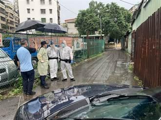 確診翁毆打亞東護理師逃回板橋家 分局長帶隊封鎖監控中