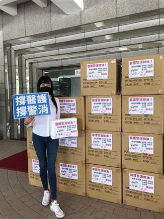 挺醫護警消 藍議員自掏腰包齊捐北市2千件防護衣