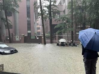 暴雨炸翻 最大時雨量達209毫米創北市史上新高