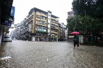 台灣大學時雨量209毫米創紀錄 氣象局:不列入歷史排名