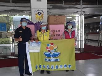 增添員警防疫工作防護力 新北警獲贈2500個面罩
