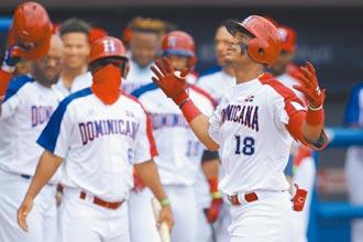 多明尼加晉級 5轟扣倒尼國