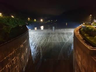暴雨亂炸 員山子分洪7.5小時達122萬立方公尺