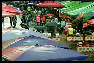 即時監看市場人潮 濱江、福德市場人流依舊多 難保持社交距離