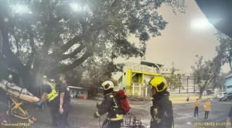電動代步車突燒成火球 獨居翁全身超過85%燒傷急救