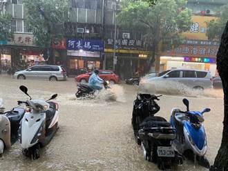 大雷雨夜襲 致災性暴雨高峰曝光 這裡降雨最多