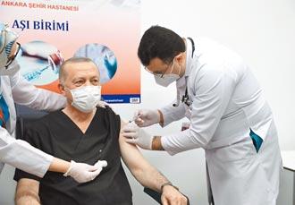 土耳其總統打3劑疫苗 輿論譁然