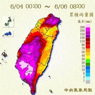 史上最強及時雨 鄭明典一圖 揭「這場雨有多愛台灣」