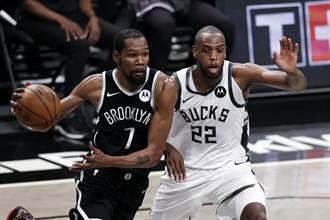 NBA》三巨頭少哈登沒差 籃網轟翻公鹿摘次輪首勝