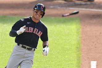 MLB》暌違635天再度開轟 張育成本季首轟出爐