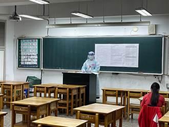 國中會考補考第二天 第一節到考率97.44%