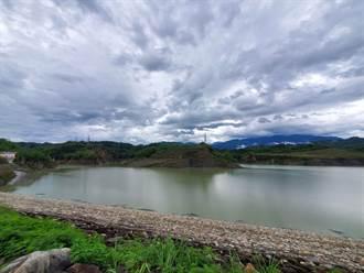 彩雲颱風帶給湖山水庫700萬公噸水 蓄水率回到43%