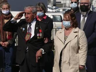 儘管疫情仍在 96歲老兵仍出席諾曼第紀念活動