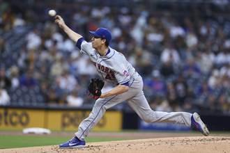 MLB》狄葛朗一戰刷破4大紀錄 0.62自責分率傲視聯盟
