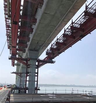 金門大橋工程進度近90% 縣府攜手移工全面防疫