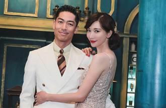 林志玲牽手帥尪AKIRA慶結婚2周年 胸前一條線擋不住好身材