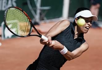 法網》決勝盤5比1領先被逆轉 謝淑薇女雙無緣8強