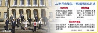 G7達協議 企業稅率最低15%
