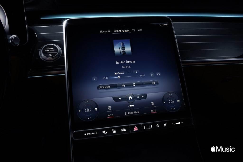Mercedes-Benz新增Apple Music線上音樂串流服務
