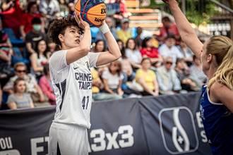 籃球》東奧3對3大學資格賽 中華女籃不敵匈牙利遭淘汰