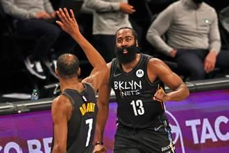 NBA》公鹿機會來了?籃網哈登提前宣告G2不打