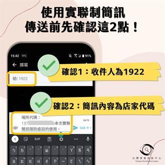詐騙集團鎖定簡訊實聯制 掃描QR Code傳送前請查明2處