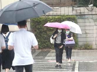 梅雨鋒面明北移 今午後山區嚴防局部性大雨