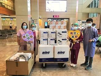 行動挺醫護 永達捐贈防護物資守護第一線抗疫英雄