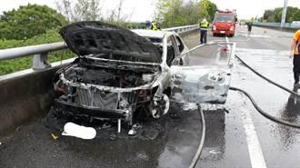 嘉市少年隊小隊長駕偵防車外出洽公 離奇燒死車內