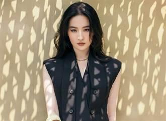劉亦菲冰雪女王造型再崩壞 網嚇壞:仙女姐姐變成鬼