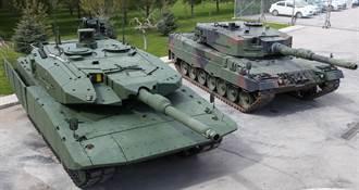 德國不幫忙 土耳其自行升級豹2A4戰車