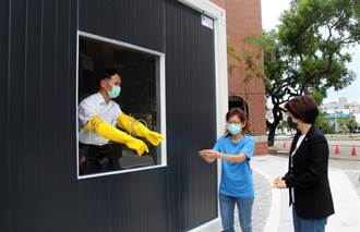慈濟援助台東設置快篩站組合屋 篩檢量能再提升