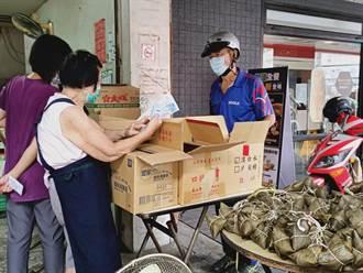 疫情衝擊生意 台南粽子老店嘆:還好遇上端午 不然生意怎麼做下去