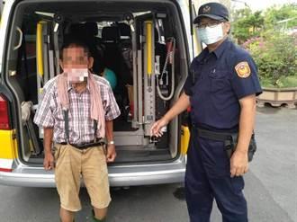 老翁就醫迷途頻說「住安中路」 警用人臉辨識系統助返家