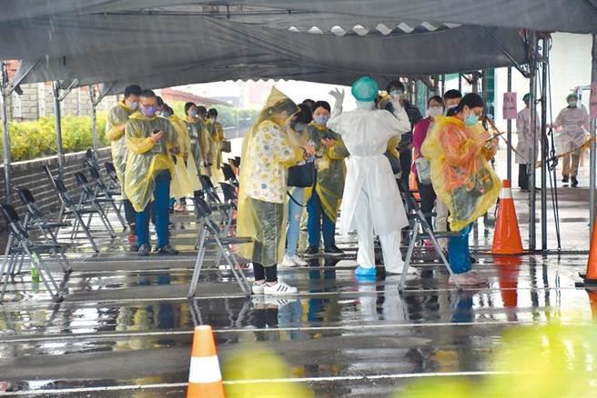 國內新冠肺炎疫情持續延燒,苗栗縣竹南科學園區爆發外籍移工群聚傳染。(本報資料照片)