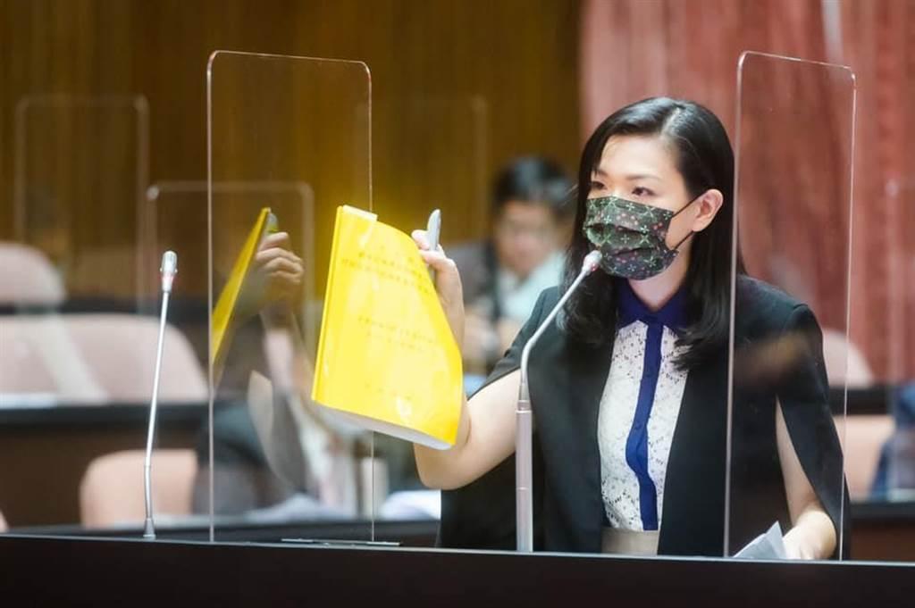 民眾黨立委 高虹安。(圖/翻攝自 高虹安臉書)