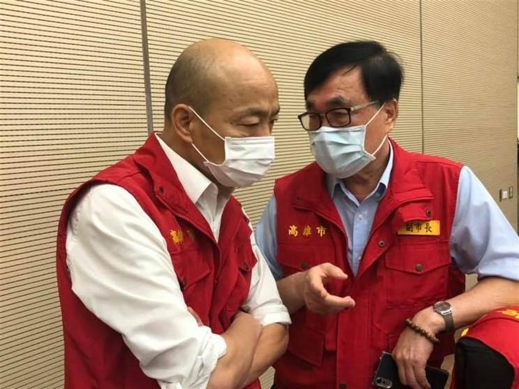 前高雄市長韓國瑜。(圖/摘自 韓國瑜 臉書)